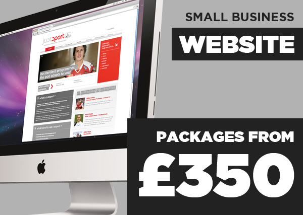 Small Business Website Packages - from £350